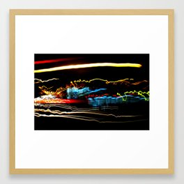 BY-PASS_NY 05 Framed Art Print