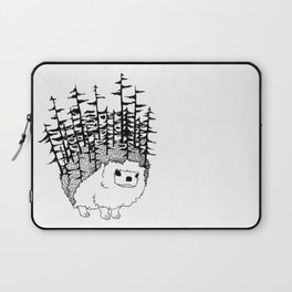Coniferous Cool B&W Laptop Sleeve