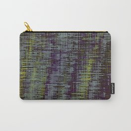 yellow blue and brown painting texture abstract background Carry-All Pouch
