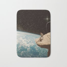 Edge of the world Bath Mat