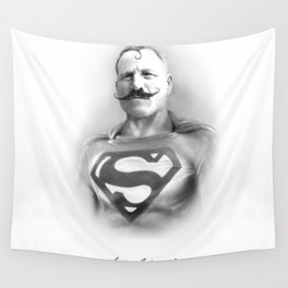 SuperbMan! Wall Tapestry