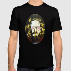 Yellow Dude : The Big Lebowski Mens Fitted Tee X-LARGE Black