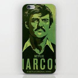 Narcos Javier Pena iPhone Skin