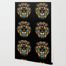 African Lion Head Wallpaper