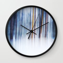 Echoes of Winter Wall Clock