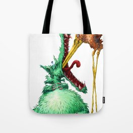 THE WOLF AND STORK Tote Bag
