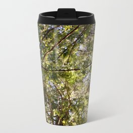 Redwood Ceiling  Metal Travel Mug