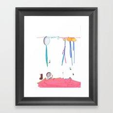 Balloon Voyage Framed Art Print