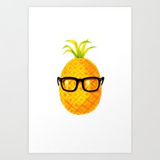Mr. Pineapple Art Print