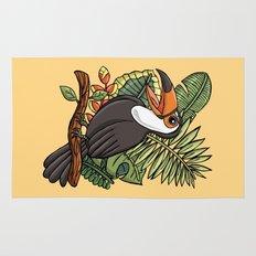 The Happy Toucan Bird Rug