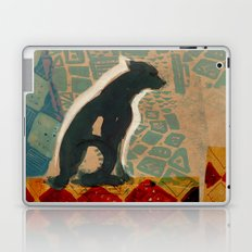 Dog on a tile floor Laptop & iPad Skin