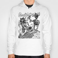 wild things Hoodies featuring Wild Things by intermittentdreamscapes