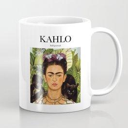 Kahlo - Self-portrait Coffee Mug