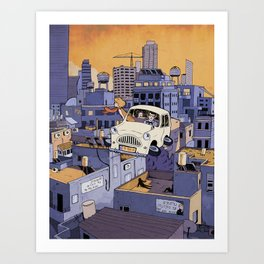 Once Upon a Future: Tel-Aviv, 2013 Art Print