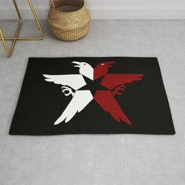 Infamous: Second Son - Jacket Bird Logo (Solid) Rug