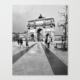 Paris after rain Canvas Print