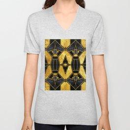 Geometric #935 Unisex V-Neck