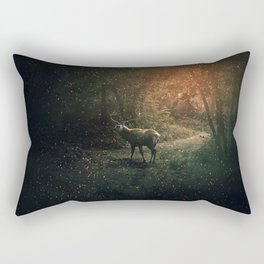 majestic forest guardian Rectangular Pillow