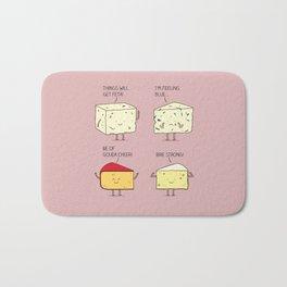 cheesy puns Bath Mat