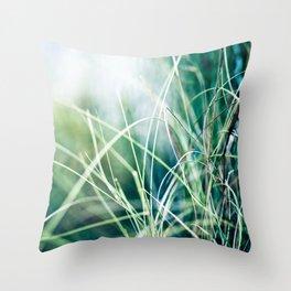 Angel Grass Throw Pillow