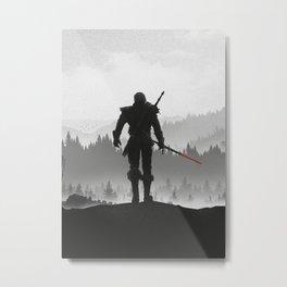 The Witcher: Wild Hunt Metal Print