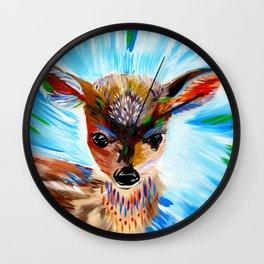 Deer Spirit 2 Wall Clock