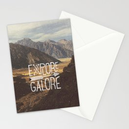 EXPLORE GALORE Stationery Cards
