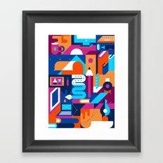 Creative Process Framed Art Print