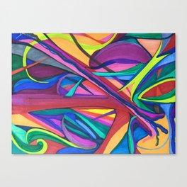 Color Exploration Canvas Print