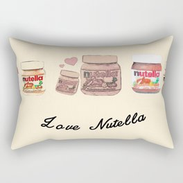 Nutella-324 Rectangular Pillow