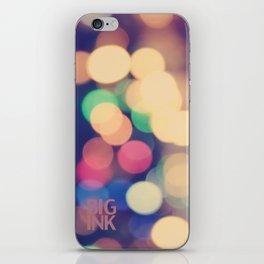 Blurred Lines iPhone Skin
