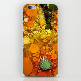 Sunset Poppies iPhone Skin