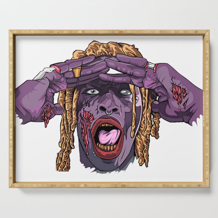 YOUNG THUG-ZOMBIE Art Serving Tray
