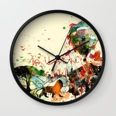 World as One : Human Kind Wall Clock