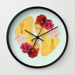 selene and eos Wall Clock