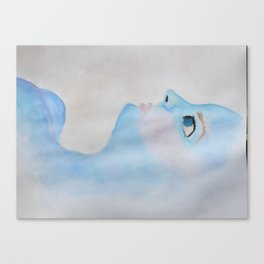 Blue Babe  Canvas Print