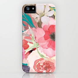 Flowers , floral , shabby chic décor,  flower decor , iPhone Case