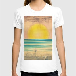 Ocean Sunset 1.0 Vintage T-shirt