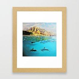 view of Kauai, HI Framed Art Print