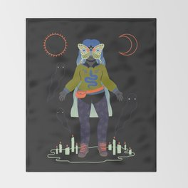 Witch Series: Seance Throw Blanket