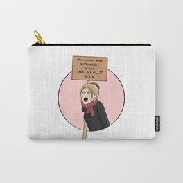 Protest and Resist Carry-All Pouch