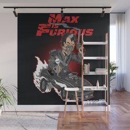 Max is Furious Wall Mural