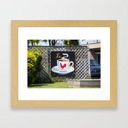 Le Petit Zinc Framed Art Print