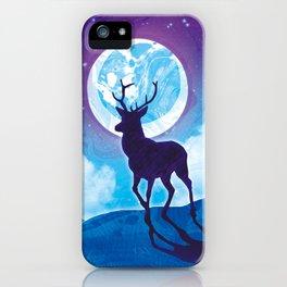 Moonlit Stag iPhone Case