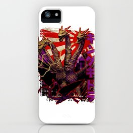 Three-Headed King Pop iPhone Case