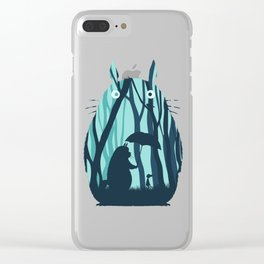 My Neighbor Totoro's Clear iPhone Case