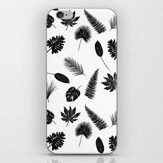Botanical study - Fern Leaves pattern iPhone & iPod Skin