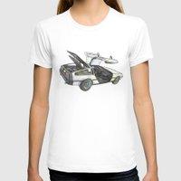 delorean T-shirts featuring DMC - Delorean by dareba
