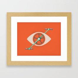 Eyecycle Framed Art Print