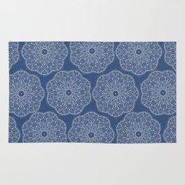 Blue Peace Mandala (tiled) Rug